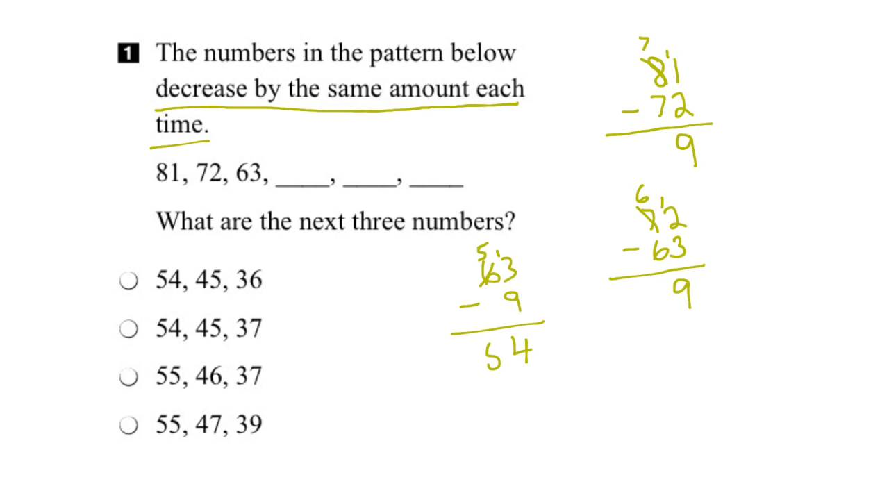 medium resolution of EQAO Grade 3 Math 2015 Question 1 Solution - YouTube