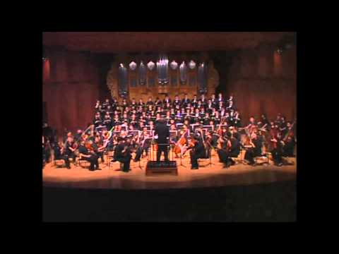 Berlioz-Messe Solennelle(1824) cond. by Dr Henry J Paik(백효죽박사) KNUA Concert Choir. Premier in Asia
