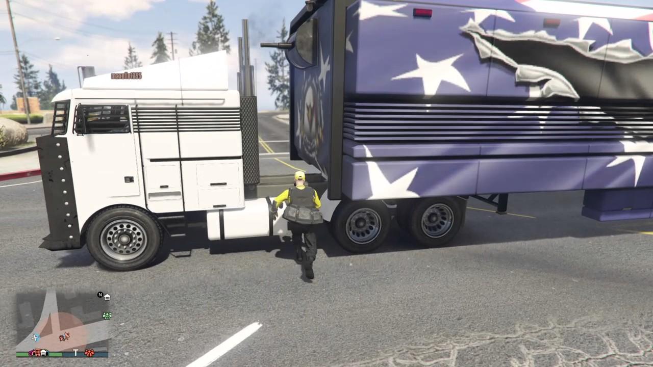 Grand Theft Auto V ps4 glitch centre d opération mobile