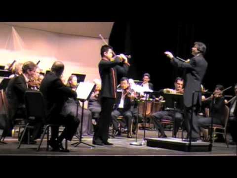 Yang Liu plays Nielsen violin concerto 1st movt pt1