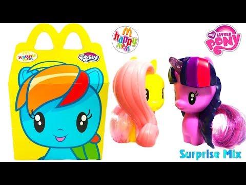 МАЙ ЛИТЛ ПОНИ Мой Маленький Пони MLP Хэппи Мил ИГРУШКИ My Little Pony TOYS Cutie Mark Crew