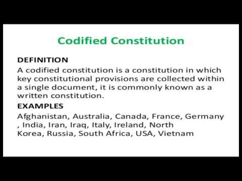 Codified of constitution, Law Firm