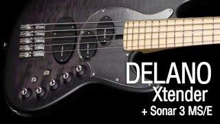 Delano Xtender + Sonar 3 MS/E Preamp