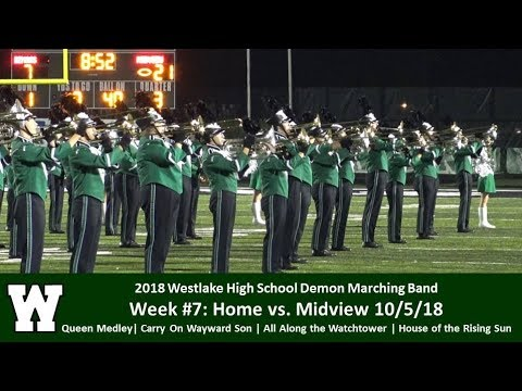 10.5.18 Home vs. Midview - WHS Demon Marching Band