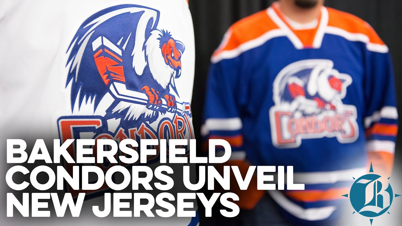News Bakersfield Condors Unveil New Jerseys YouTube