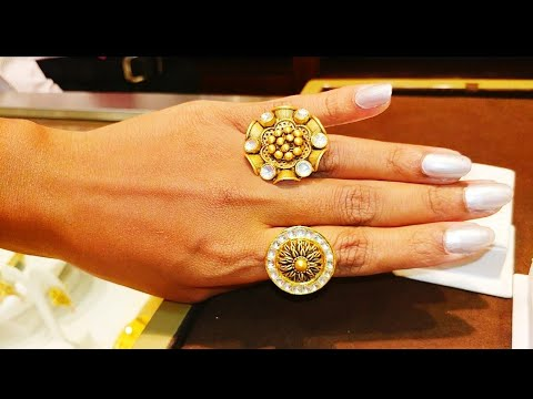 #GoldJewelleryCollections Finger Ring Collection At Malabar Gold And Diamonds