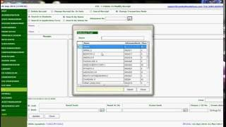 How to Change Transaction Mode such as Cash or Bank in VinHaze school management system (English)
