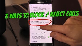 3 Ways to Block Calls on Android Phones Tablets