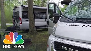 State Park In Ohio Braces For 'Unprecedented' Camping Demand | NBC News NOW