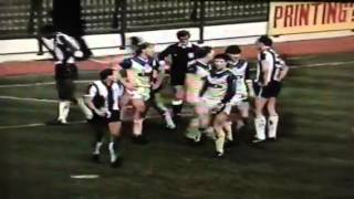 WBA 3-0 Leeds Utd 6/12/86 Fires,fights and Sending offs