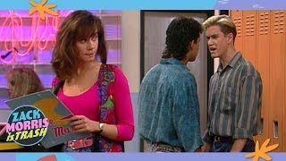 The Time Zack Morris Sucker Punched Slater Over A Girl He Just Met