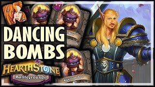 DANCING THROUGH THE BOMBS - Hearthstone Battlegrounds