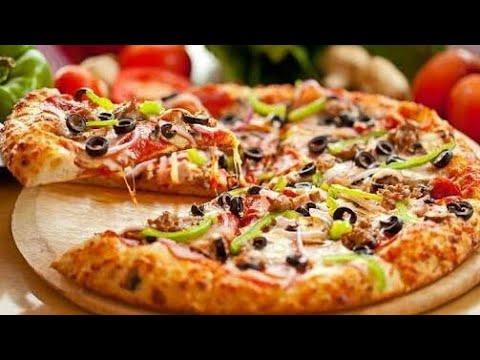 صورة  طريقة عمل البيتزا #بيتزا#الدجاج#خطيرة اسرار عمل بيتزا الفراخ زى المحلات🍕بطريقة سهله وبسيطه وبجد تحفه طريقة عمل البيتزا من يوتيوب