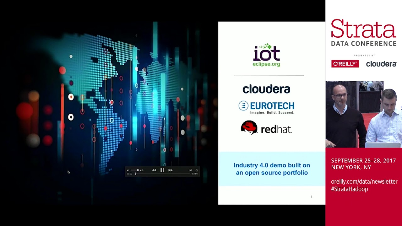 An Open Source Architecture for IoT - Jonathan Cooper-Ellis (Cloudera)  David Bericat (Red Hat)
