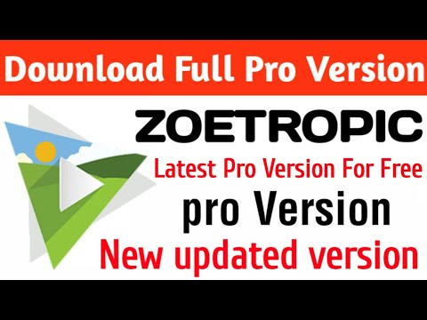 Download Zoetropic Apk Full Pro version For Free