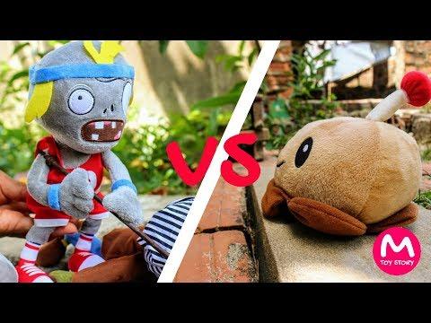 Plants vs Zombies Plush Toys: Potato Mine vs Zombies | MOO Toy Story