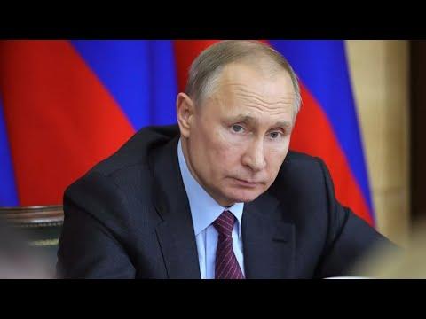 Встреча Путина с рабочей группой по подготовке поправок в Конституцию РФ. Полное видео