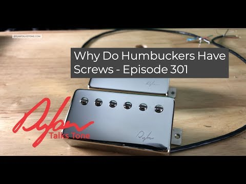 Why Do Humbucker Pickups Have Screws? Should You Adjust Them? Episode 301