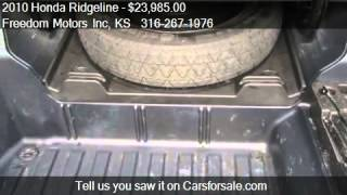 2010 Honda Ridgeline RTL w/ Navigation - for sale in Wichita