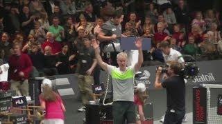 John McEnroe wins sixth Statoil Masters Tennis crown