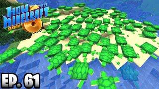WORLDS BIGGEST MINECRAFT TURTLE FARM!!! |H6M| Ep.61 How To Minecraft Season 6 (SMP)