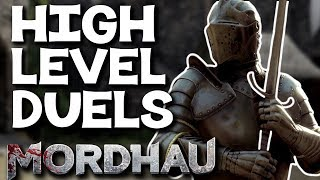 High Level Dueling Session - Mordhau Duels Commentary Gameplay