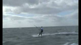The Crossing - First people ever to kitesurf across the Irish Sea land to land