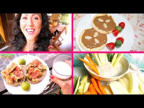 Spuntini Sani E Proteici : 3 spuntini sani e sfiziosi con poche calorie!!! carlitadolce