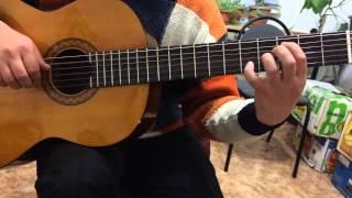 Красивая мелодия на гитаре -