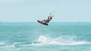 Kiteboarding Freestyle Session