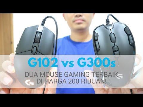 Logitech G300s Vs G102 Review Indonesia, Mouse Gaming Terbaik 200 Ribuan + Giveaway Januari 2018!
