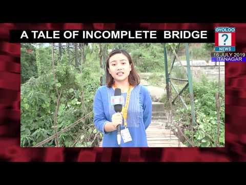 16 July 2019 INCOMPLETE BAILEY BRIDGE IN BORUM VILLAGE, ABOTANI BRIDGE IN F   SECTOR AND ROAD BLOCKA