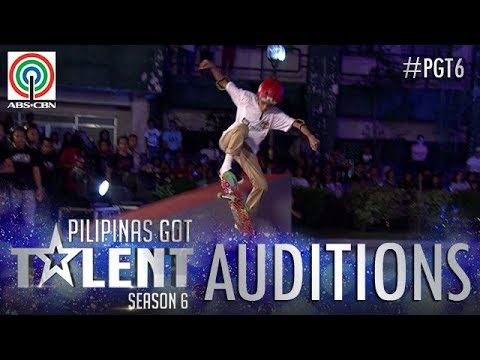 Pilipinas Got Talent 2018 Auditions: Sebby - Skateboarding Stunts