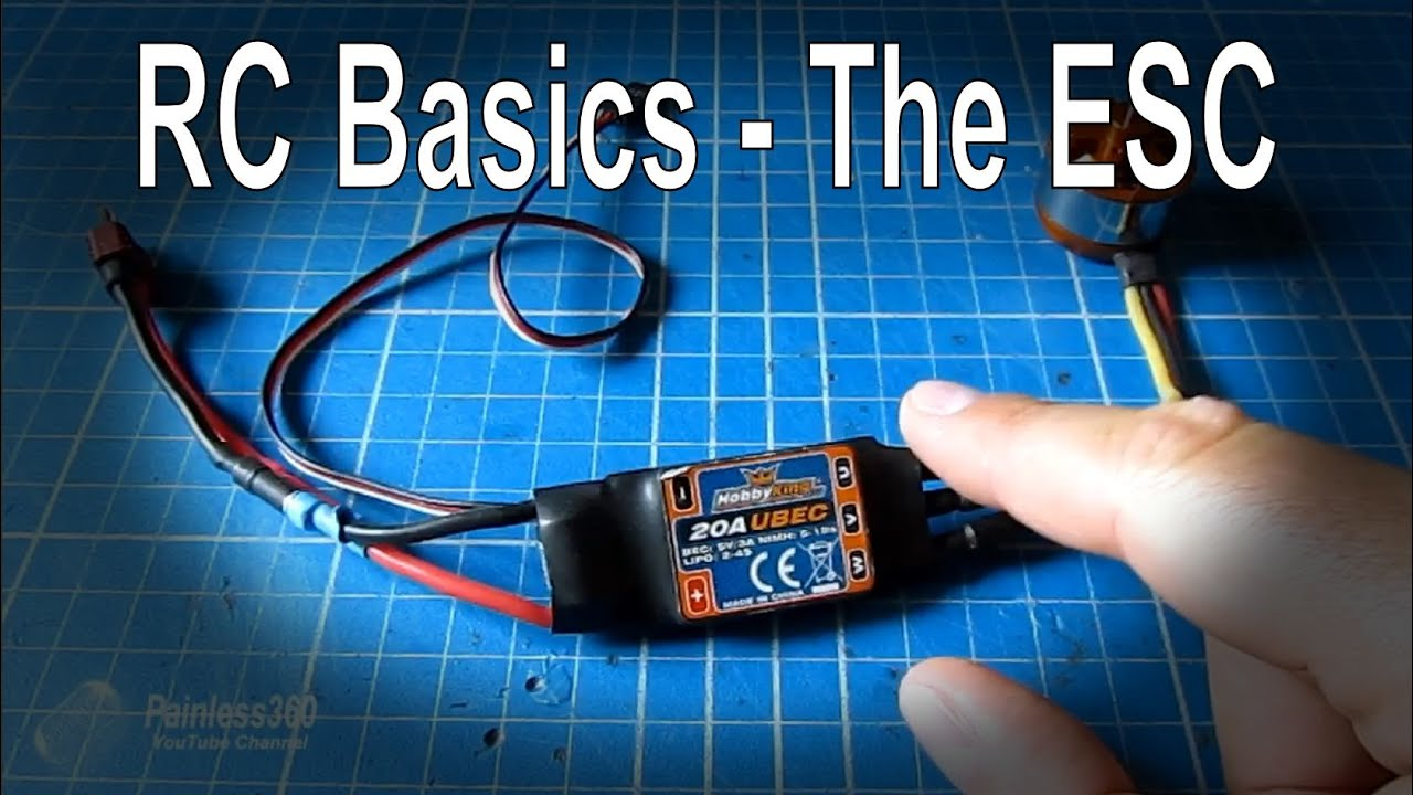 Rc Basics Understanding Electronic Speed Controllers Esc Youtube Single Motor How To Wire Twin Motors