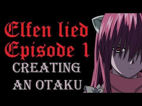 NON-ANIME FAN BLIND REACTION to Elfen Lied Episode 1
