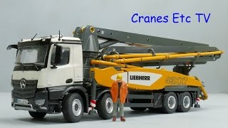 NZG Liebherr 43 R4 XXT Concrete Pump by Cranes Etc TV