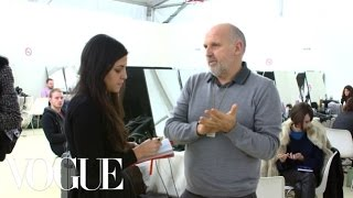 Backstage Trends & Highlights of Fashion Week Fall 2013 with Celia Ellenberg