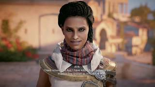 Assassin's Creed Origins - 1st Playtrough Completed - End Game Cinematic !!!SPOILER!!!