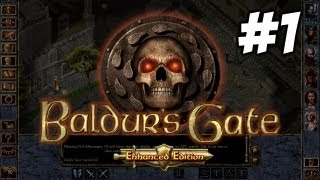 Baldur's Gate: Enhanced Edition Let's Play #1 - Candlekeep - Gameplay Walkthrough
