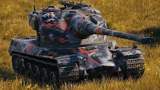 World of Tanks AMX 50 B - 4 Kills 10,5K Damage