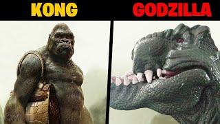 KONG 🙈 vs GODZILLA 🦖