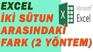 Download lagu Excel İki Sütun Arasındaki Farkı Bulma MP3