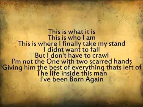 newsboys born again lyrics youtube