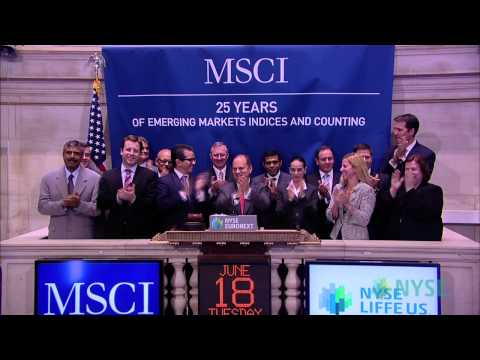 MSCI Celebrates 25 Years of Emerging Markets