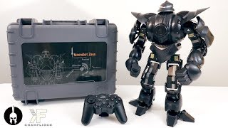 UNBOXING & LETS PLAY! - ZEUS - Moorebot : Ultimate Battle Humanoid Robot w/ 22 Servos!