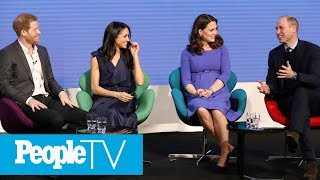 The royal fab 4 are sharing spotlight for very first time!subscribe to peopletv ►► http://bit.ly/subscribepeopletvpeople now brings you daily news up...