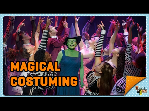 Wicked the Musical - Costume Shop Tour  (Part 1) - Behind the Scenes