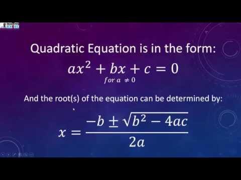 quadratic equation in excel using vba youtubequadratic equation in excel using vba