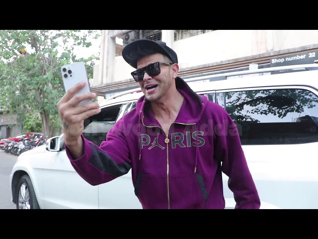 Sahil Khan spotted at Andheri