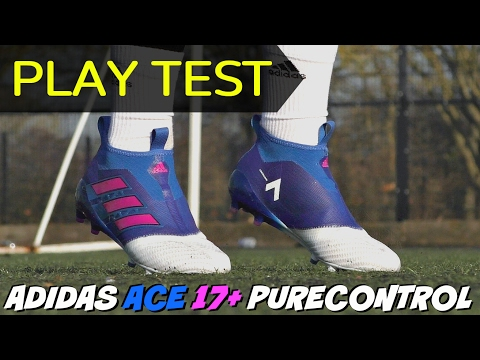 designer fashion 64a80 f8f0e TESTING NEW adidas ACE 17+ PureControl Boots with BOOST ...
